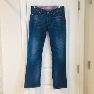 Rich&Skinny Stretch Cropped Straight Leg Jeans 27